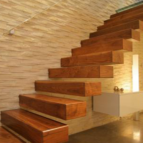 wooden stair treads