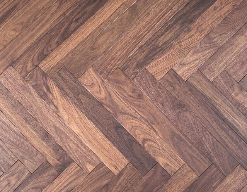 Herringbone Pattern -American walnut