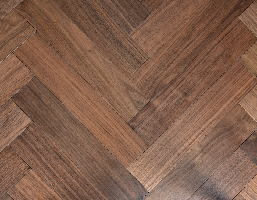 Herringbone Pattern -Walnut